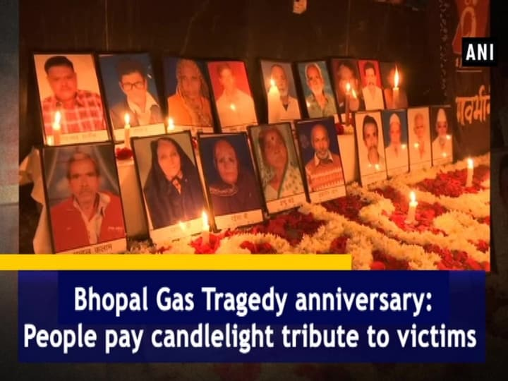 Bhopal Gas Tragedy anniversary: People pay candlelight tribute to victims