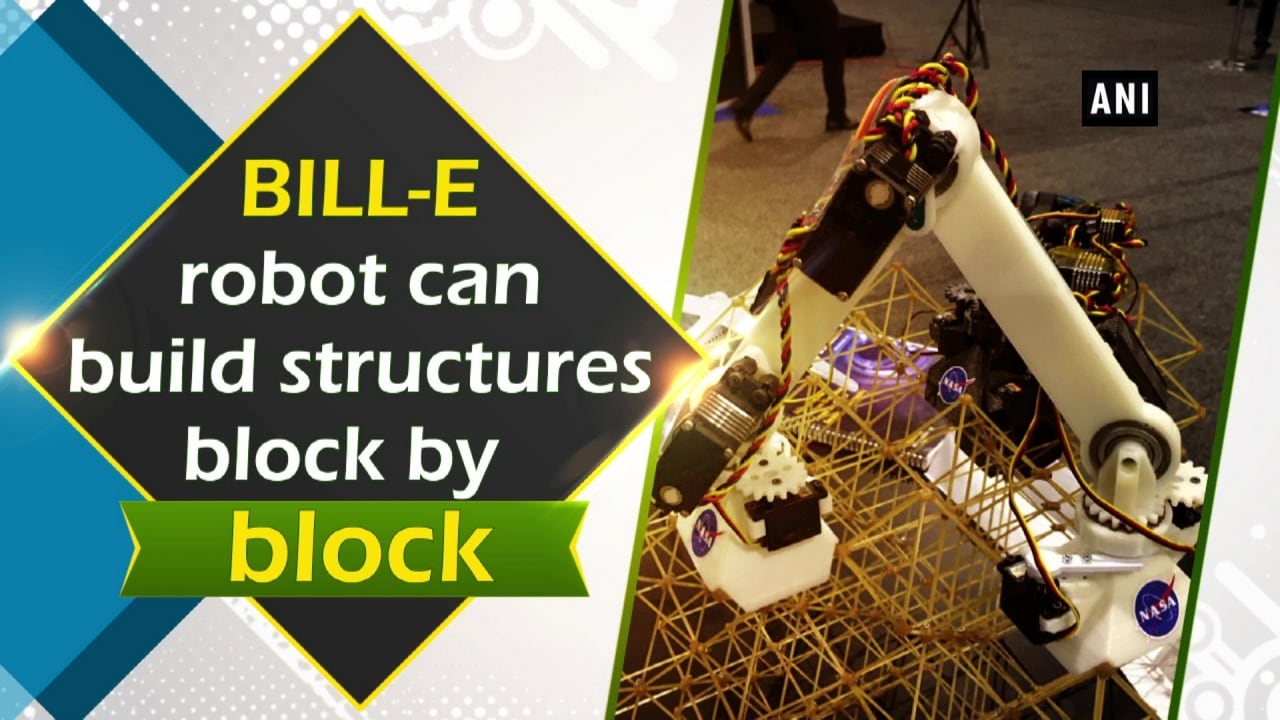 BILL-E robot can build structures block by block