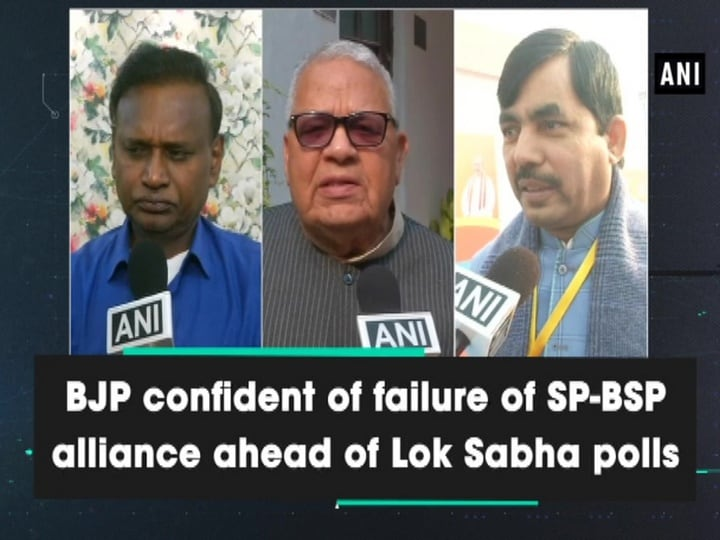 BJP confident of failure of SP-BSP alliance ahead of Lok Sabha polls