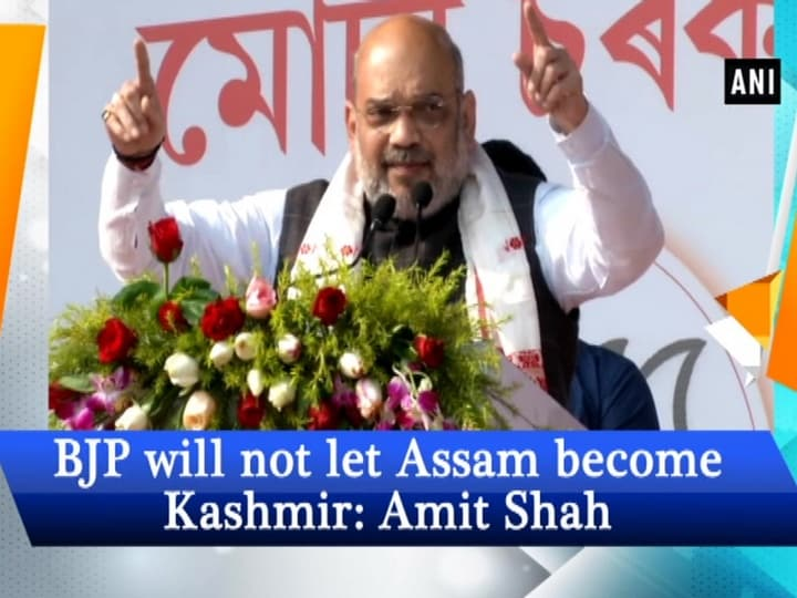 BJP will not let Assam become Kashmir: Amit Shah