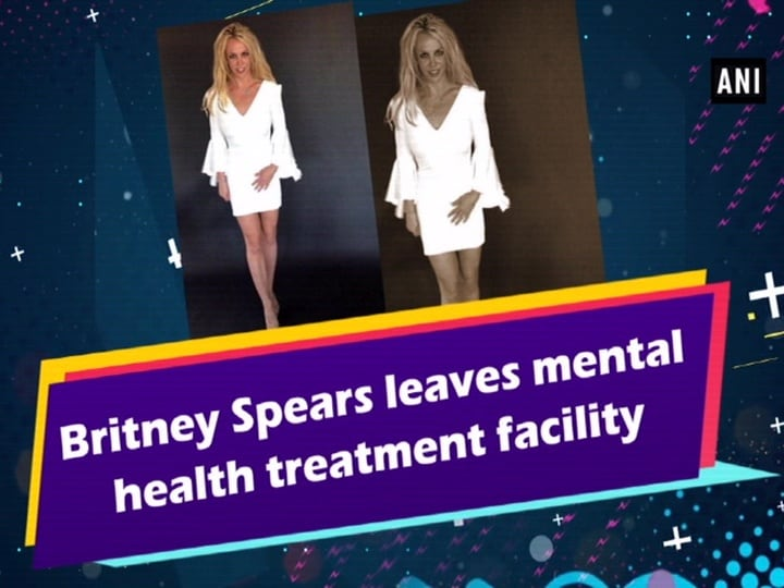 Britney Spears leaves mental health treatment facility