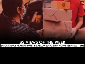 BS Views of the Week: E-commerce players must be allowed to ship non-essential items