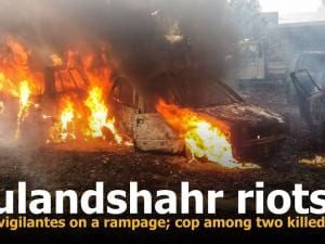 Bulandshahr riots: Cow vigilantes on a rampage; cop among two killed