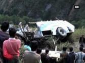 Bus Accident kills at least 14 in Himachal Pradesh