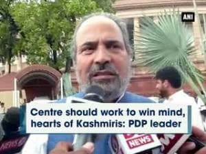 Centre should work to win mind, hearts of Kashmiris: PDP leader