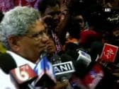 Challenge is to safeguard unity and integrity of India against the divisive politics: Sitaram Yechury
