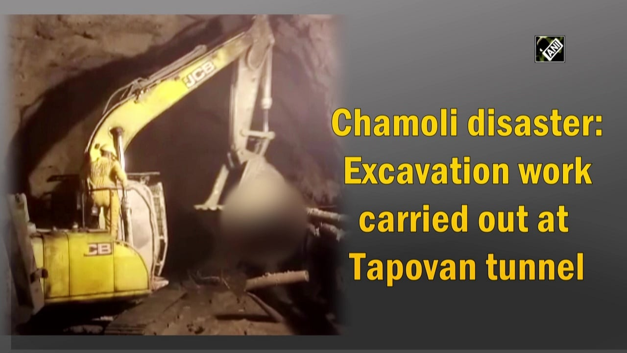 Chamoli disaster: Excavation work carried out at Tapovan tunnel