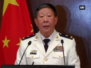Chinese military official calls on PM Modi