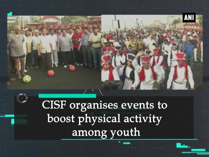 CISF organises events to boost physical activity among youth