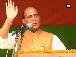 Congress has failed on infiltration issue in Assam: Rajnath Singh