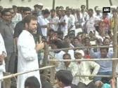 Congress will stand with the tribals says Rahul Gandhi in Chhattisgarh