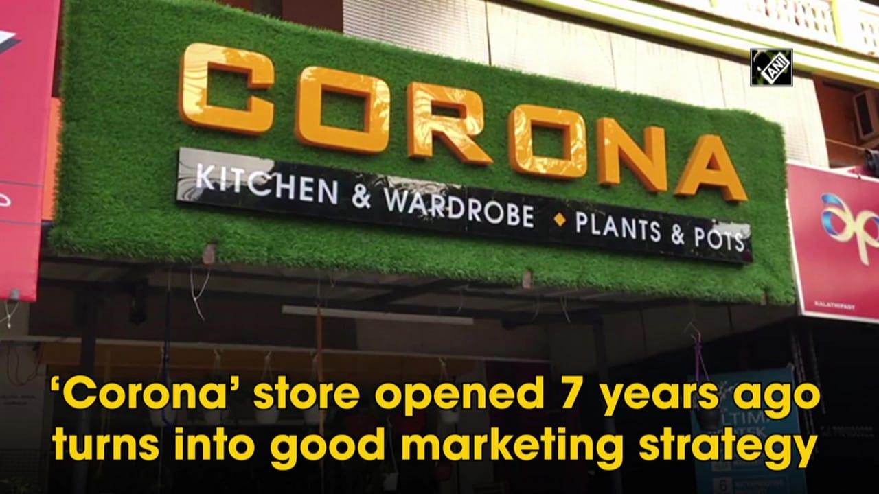 'Corona' store opened 7 years ago turns into good marketing strategy