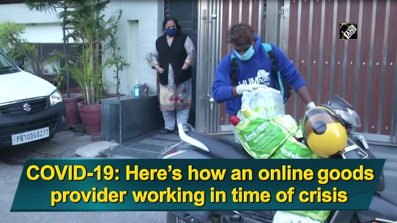 COVID-19: Here's how an online goods provider working in time of crisis