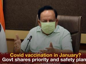 Covid vaccination in January? Govt shares priority and safety plans