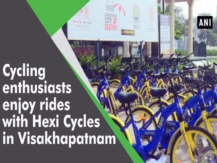 Cycling enthusiasts enjoy rides with Hexi Cycles in Visakhapatnam