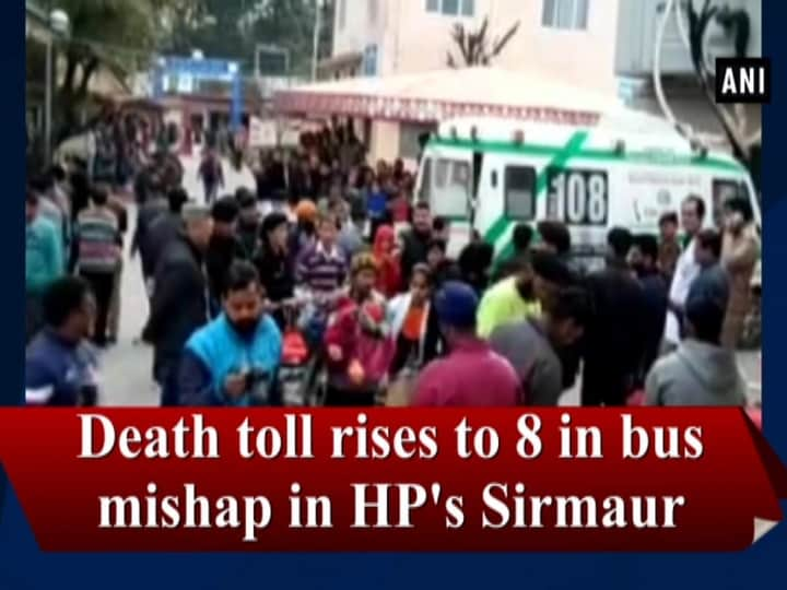 Death toll rises to 8 in bus mishap in HP's Sirmaur
