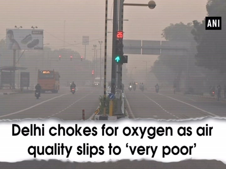 Delhi chokes for oxygen as air quality slips to 'very poor'
