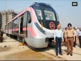 Delhi Metro gets first driver-less train from Korea