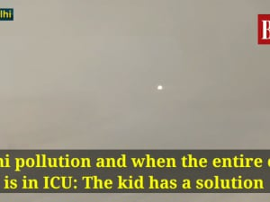 Delhi pollution and when the entire city is in ICU: The kid has a solution