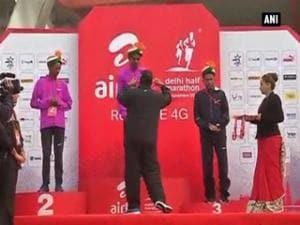Delhi runs for Airtel half marathon