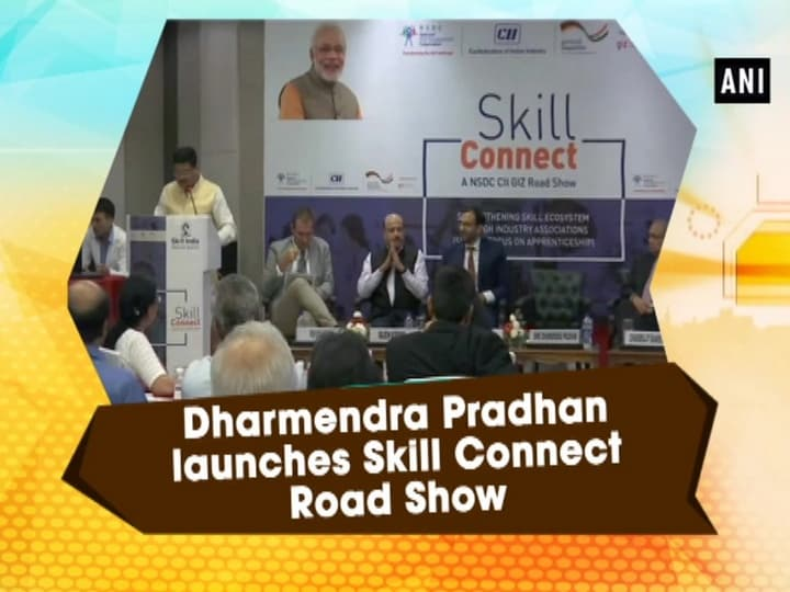 Dharmendra Pradhan launches Skill Connect Road Show