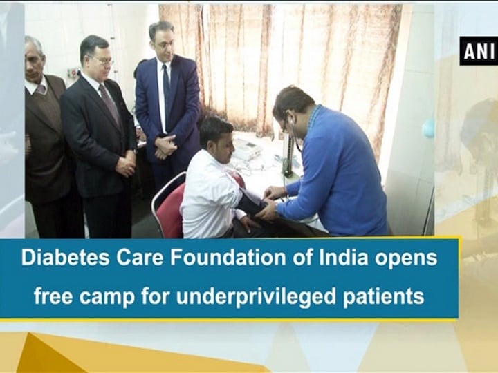 Diabetes Care Foundation of India opens free camp for underprivileged patients