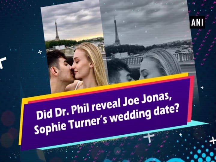 Did Dr. Phil reveal Joe Jonas, Sophie Turner's wedding date?