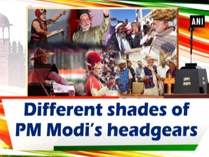 Different shades of PM Modi's headgears