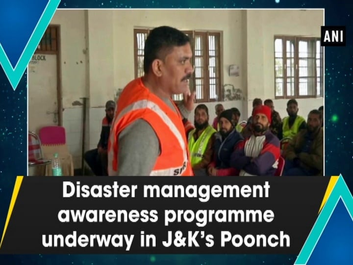 Disaster management awareness programme underway in J and K's Poonch