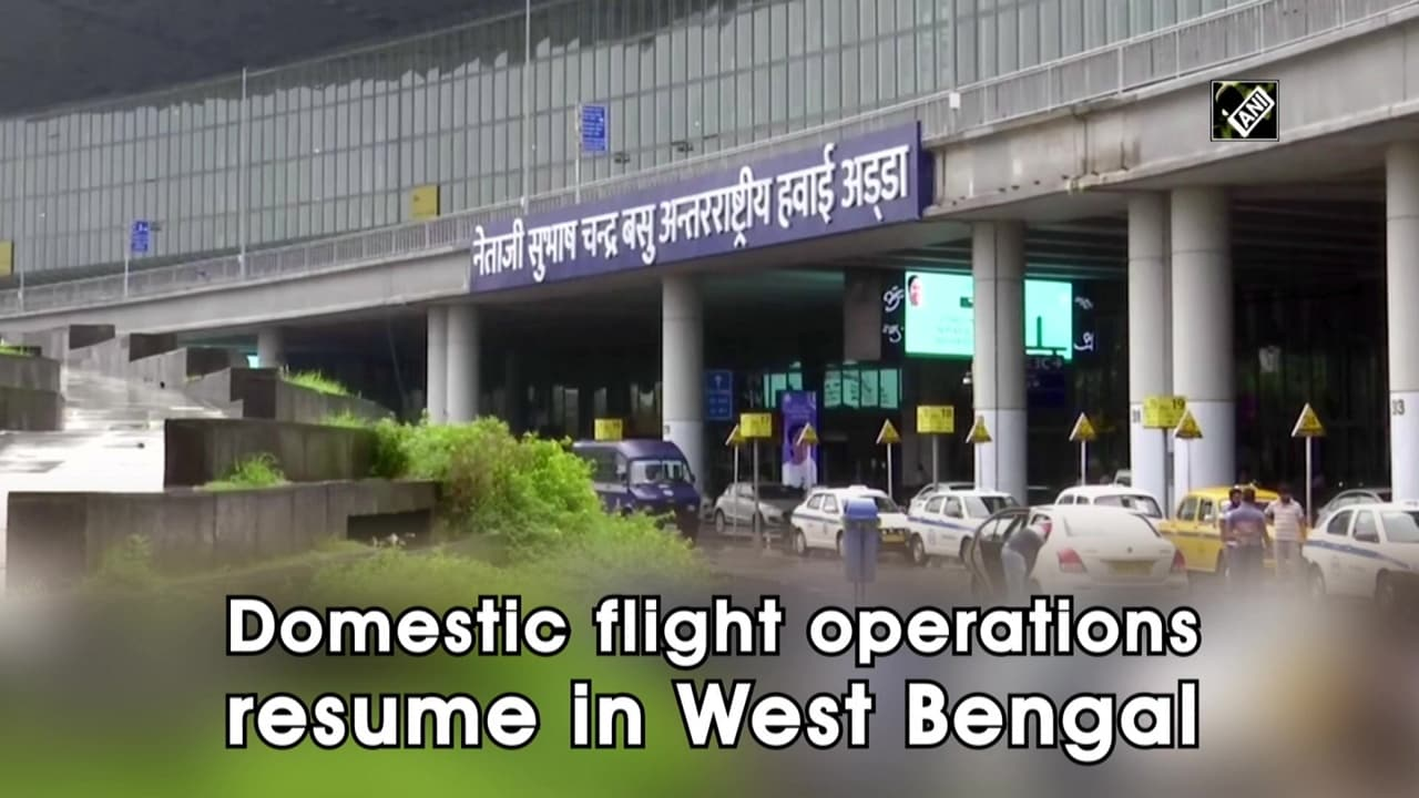 Domestic flight operations resume in West Bengal