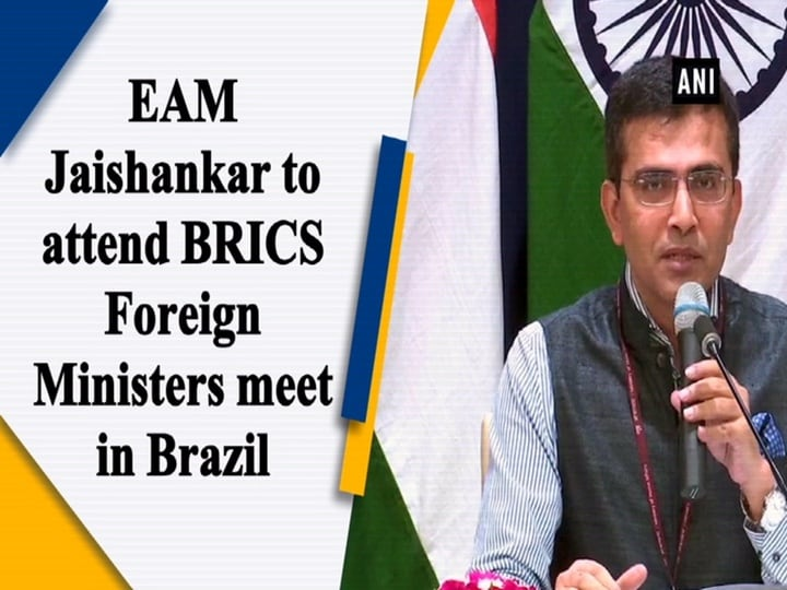 EAM Jaishankar to attend BRICS Foreign Ministers meet in Brazil