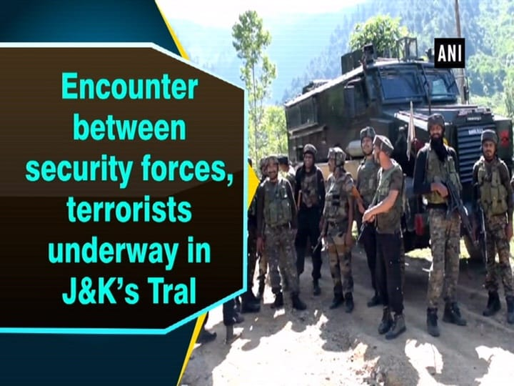 Encounter between security forces, terrorists underway in J and K's Tral