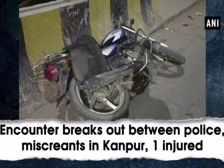 Encounter breaks out between police, miscreants in Kanpur, 1 injured
