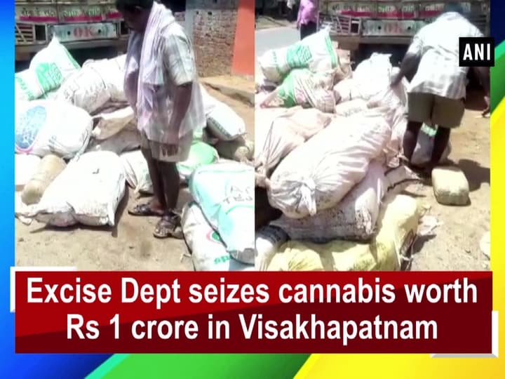 Excise Dept seizes cannabis worth Rs 1 crore in Visakhapatnam