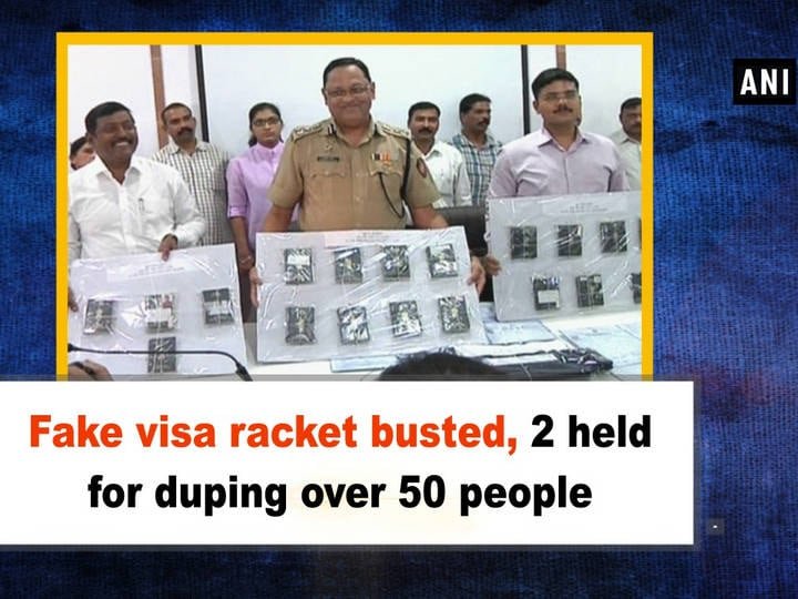 Fake visa racket busted, 2 held for duping over 50 people