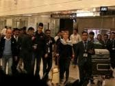Federer and Djokovic arrive in New Delhi for Tennis League