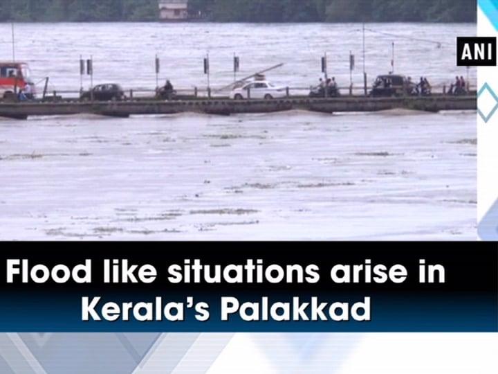 Flood like situations arise in Kerala's Palakkad