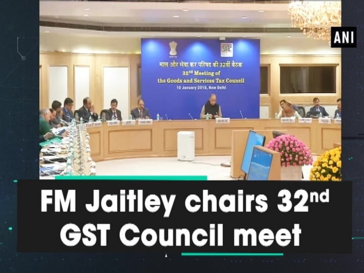 FM Jaitley chairs 32nd GST Council meet
