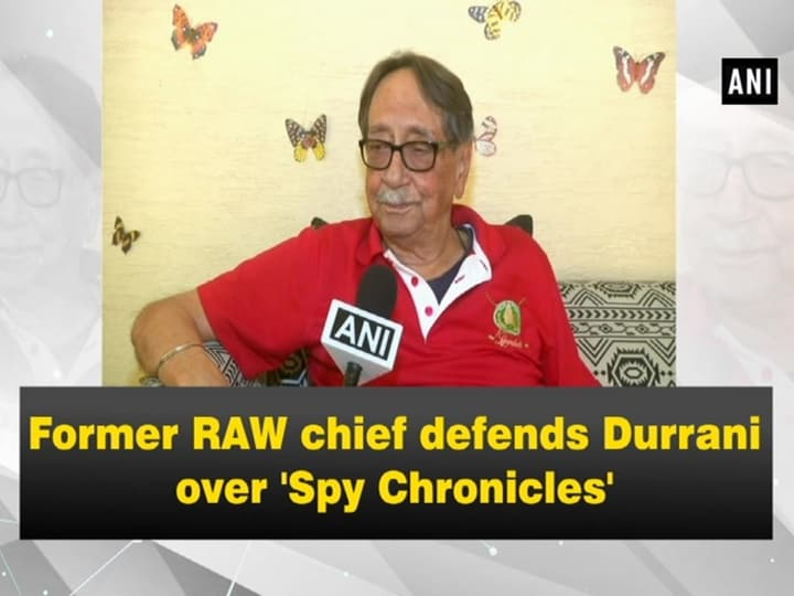 Former RAW chief defends Durrani over 'Spy Chronicles'