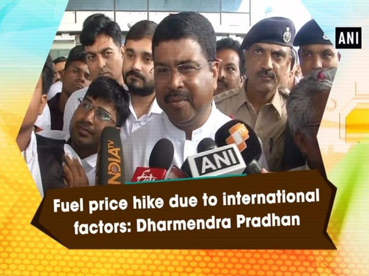 Fuel price hike due to international factors: Dharmendra Pradhan
