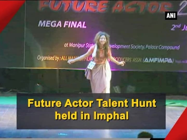 Future Actor Talent Hunt held in Imphal