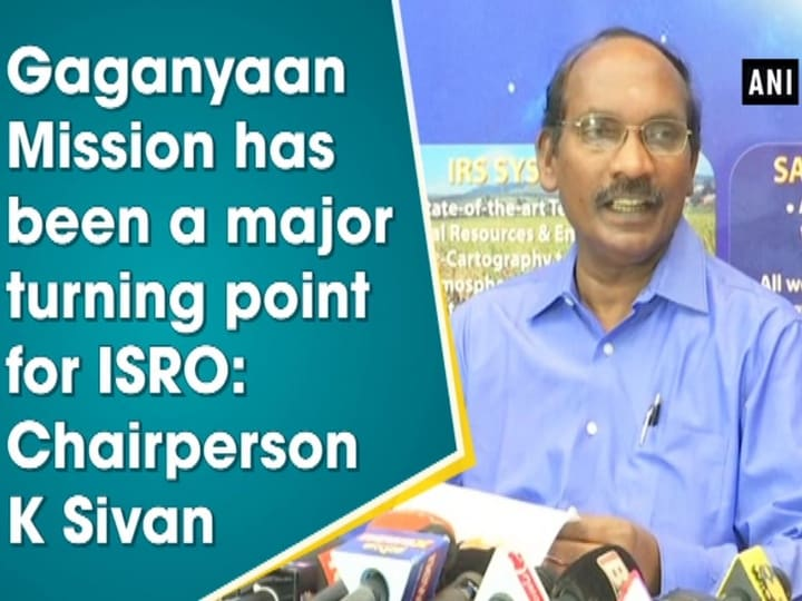 Gaganyaan Mission has been a major turning point for ISRO: Chairperson K Sivan