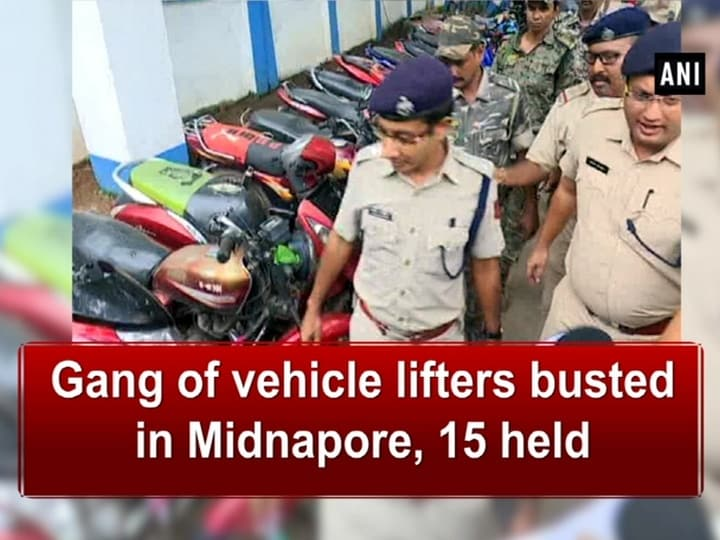 Gang of vehicle lifters busted in Midnapore, 15 held