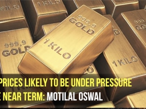Gold prices likely to be under pressure in the near term: Motilal Oswal