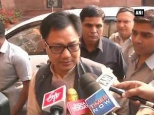 'Good' that CBI is handling Chhota Rajan's cases: Rijiju