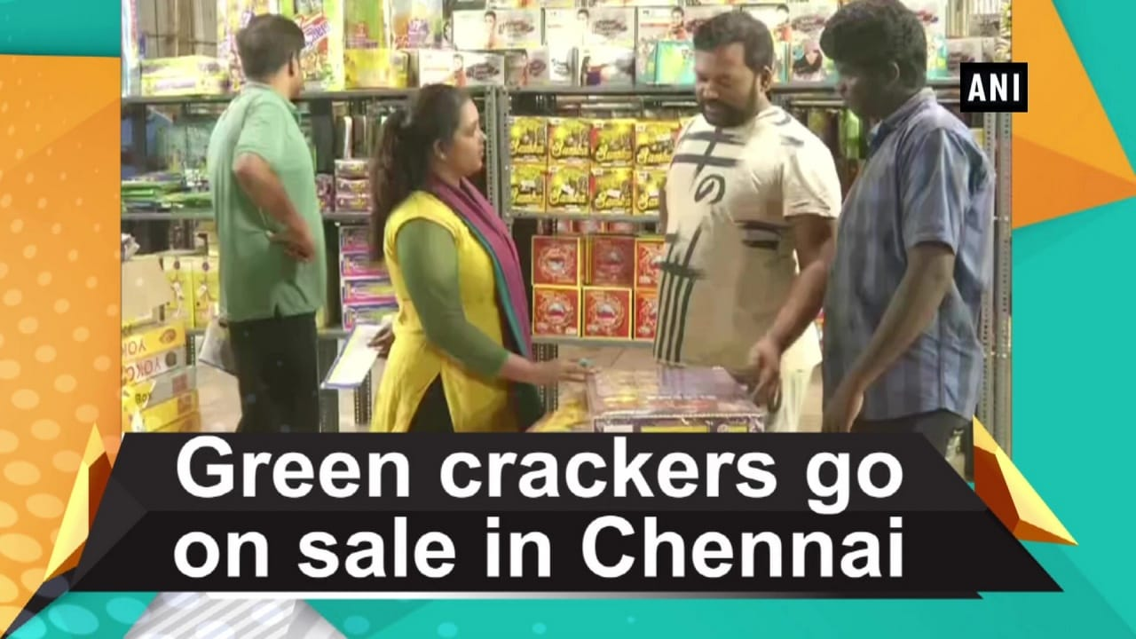 Green crackers go on sale in Chennai