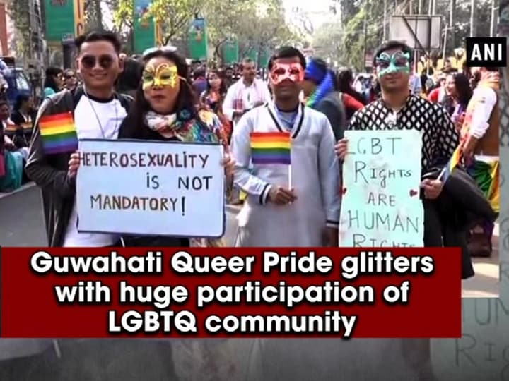 Guwahati Queer Pride glitters with huge participation of LGBTQ community