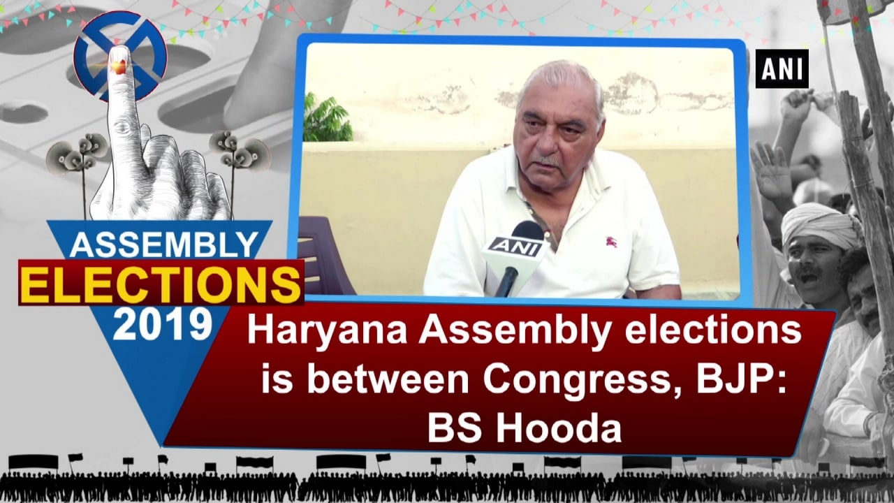Haryana Assembly elections is between Congress, BJP: BS Hooda