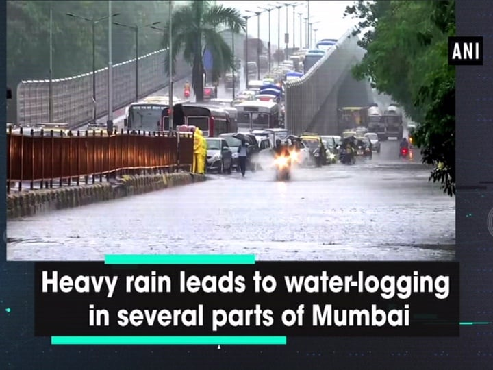 Heavy rain leads to water-logging in several parts of Mumbai