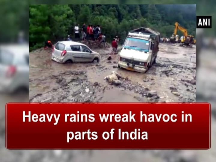 Heavy rains wreak havoc in parts of India